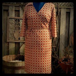 Vintage inspired dress L